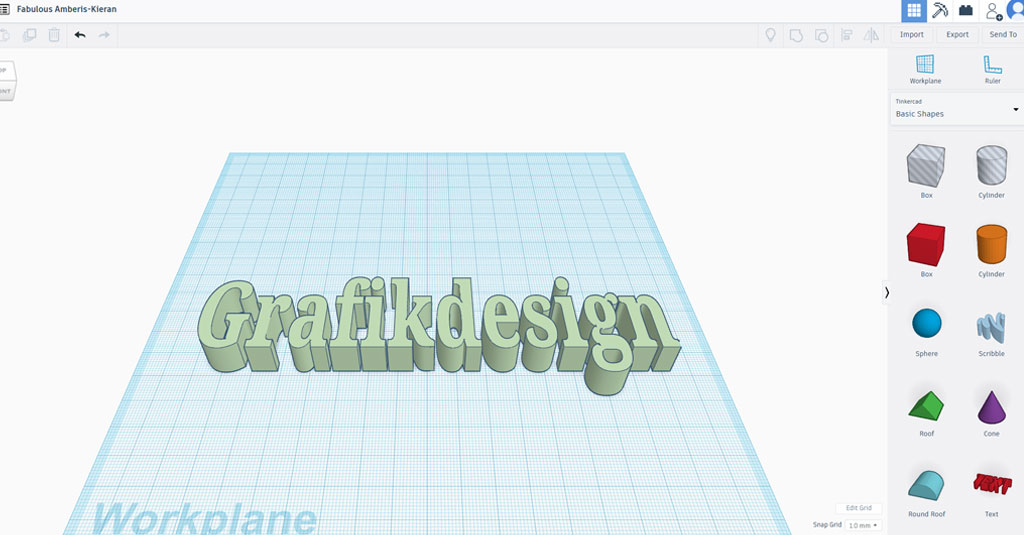 online Grafikdesign programme gratis Tinkercad