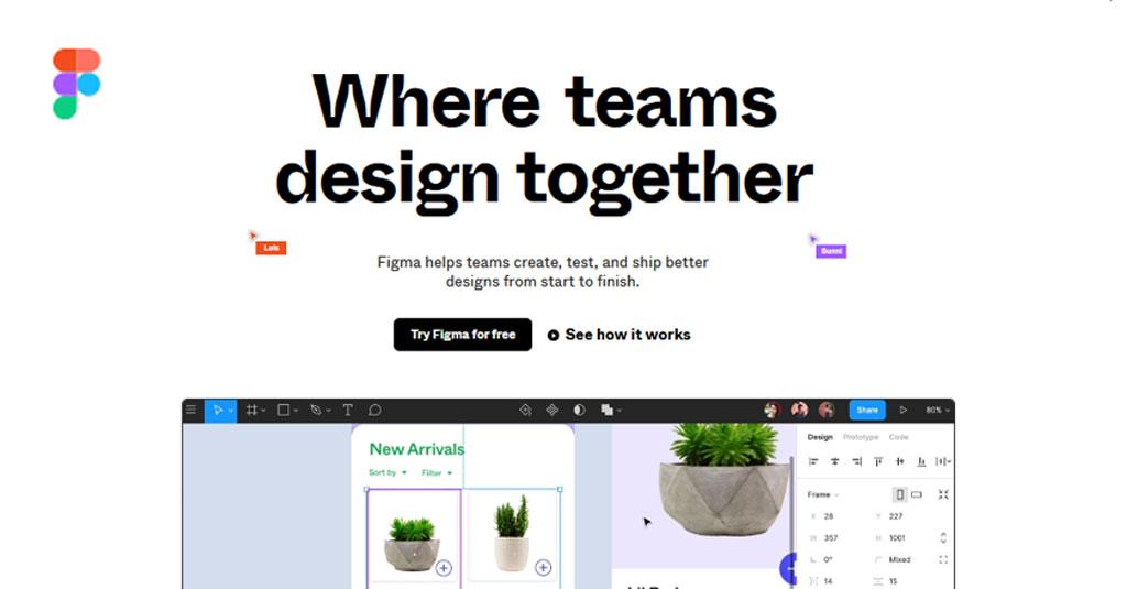 online Grafikdesign programme gratis Figma