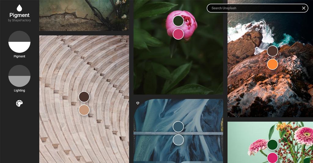 online Grafikdesign programme gratis Pigment