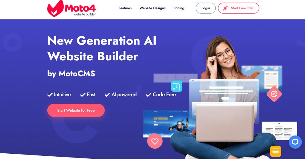 rückblick moto4 homepage baukasten
