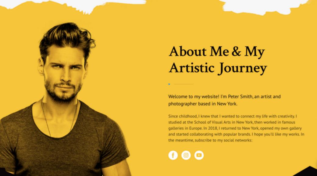build a portfolio for your website