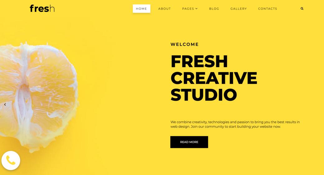 trendy website design