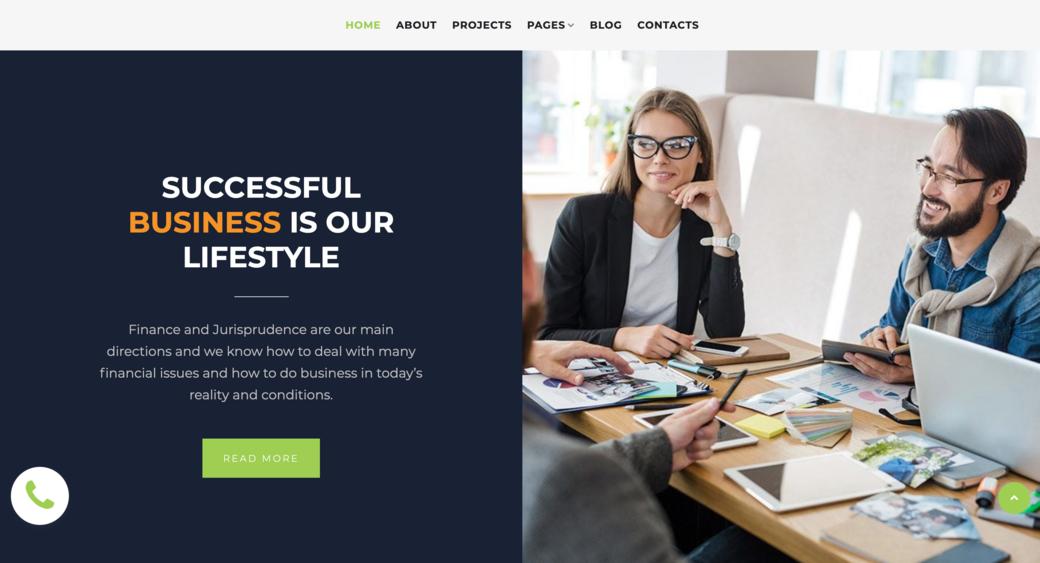 advertising company web design
