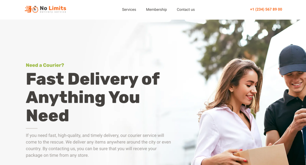 multipage website for your company