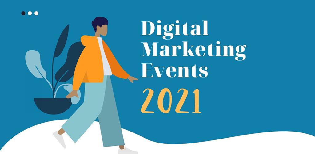 Digital Marketing Events 2021 illustration