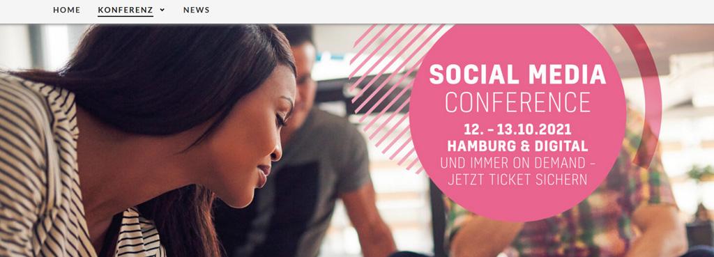 Digital Marketing Events2021 social media confrence