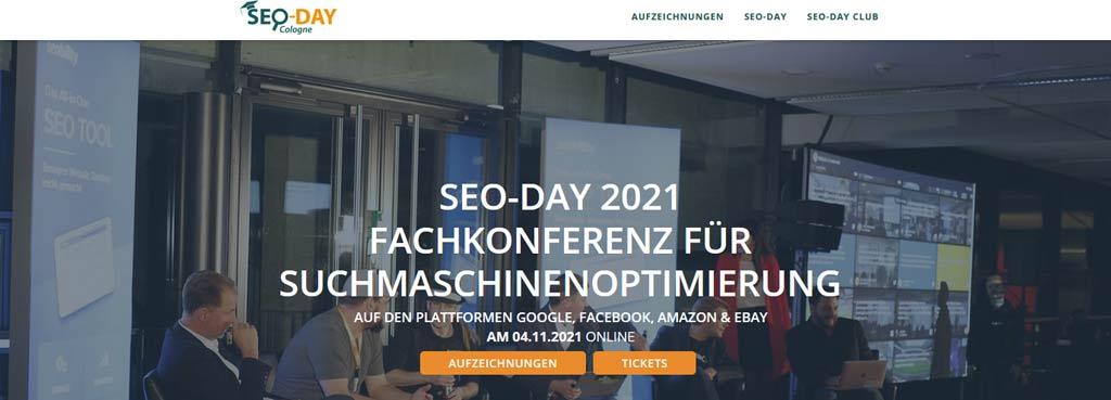 Marketing Konferenz 2021 seo day