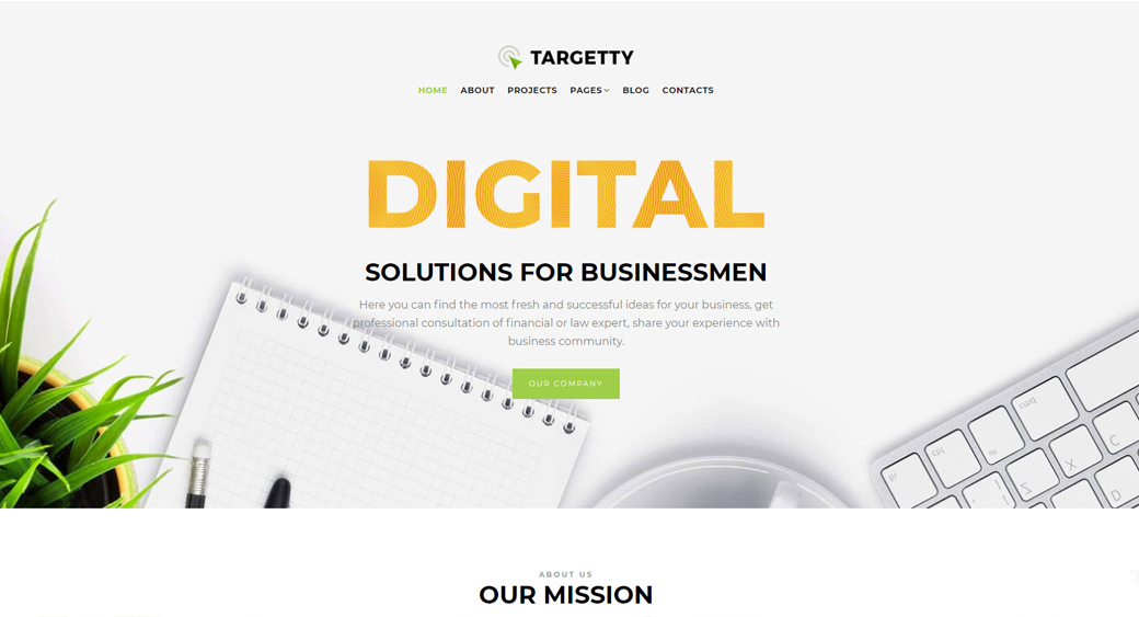 Digital Home Page