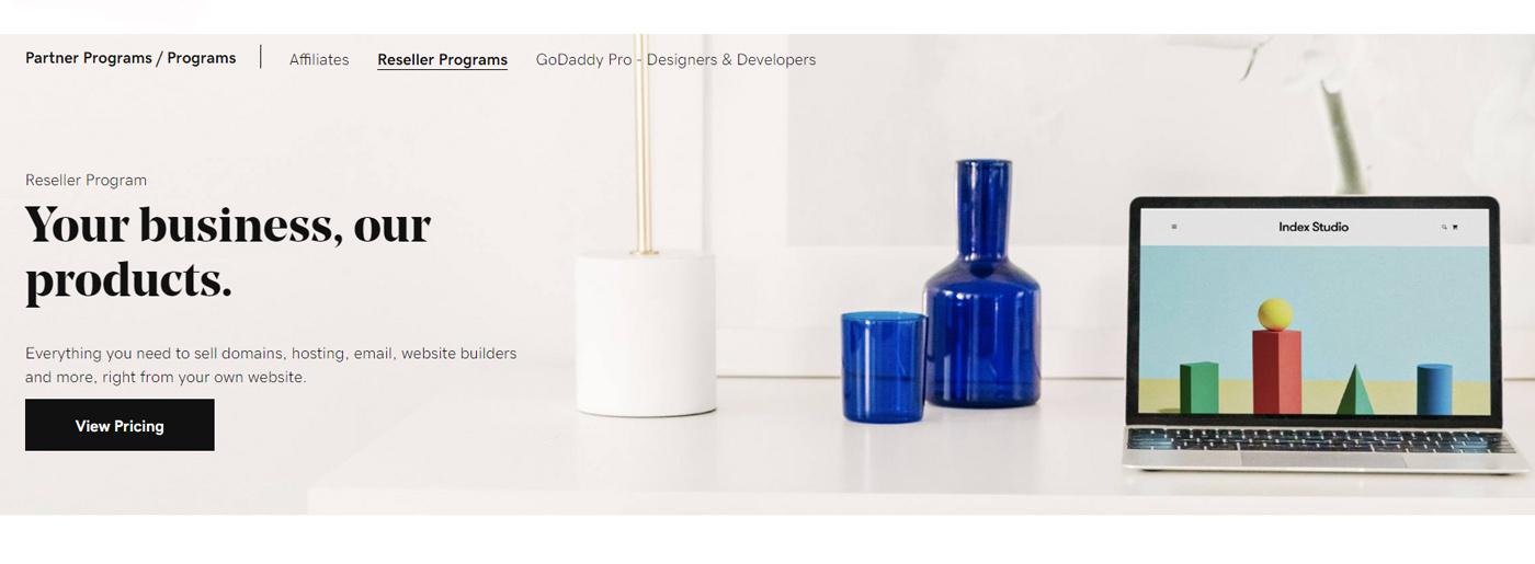 GoDaddy White Label Website Design