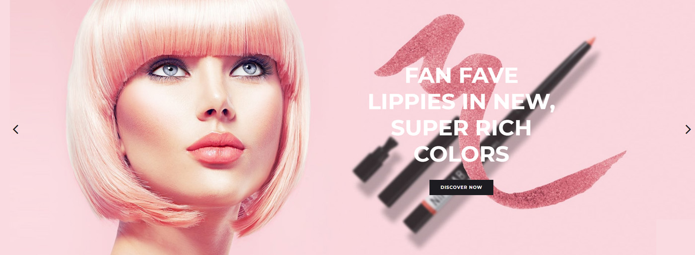 Cosmetic Website Template