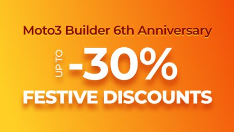 Up to 30% Discount Offer on Everything - MotoCMS 3 Turns 6