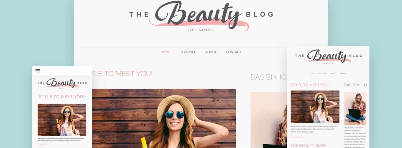 Jimdo Website Themes