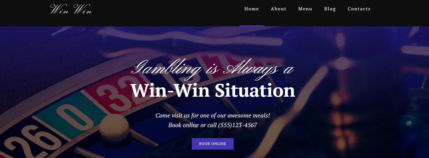 Online Casino Website Design for Online Roulette