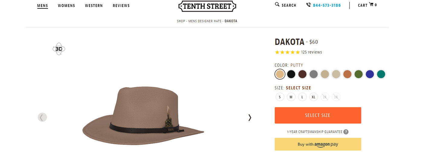 Online Hat Store Tenth Street Hats