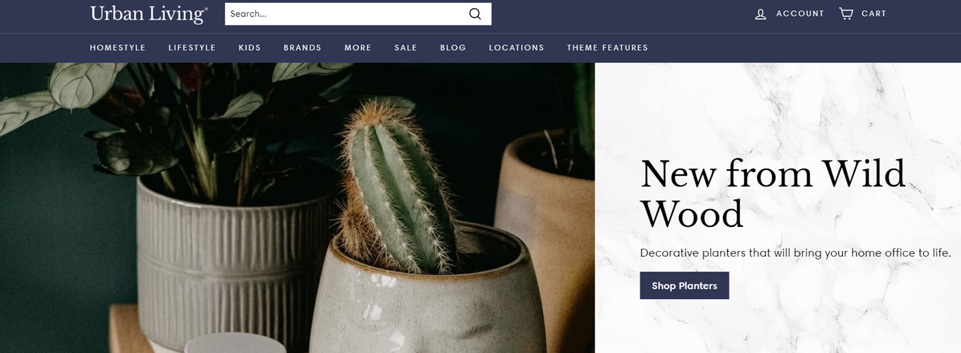 Shopify Ecommerce Templates