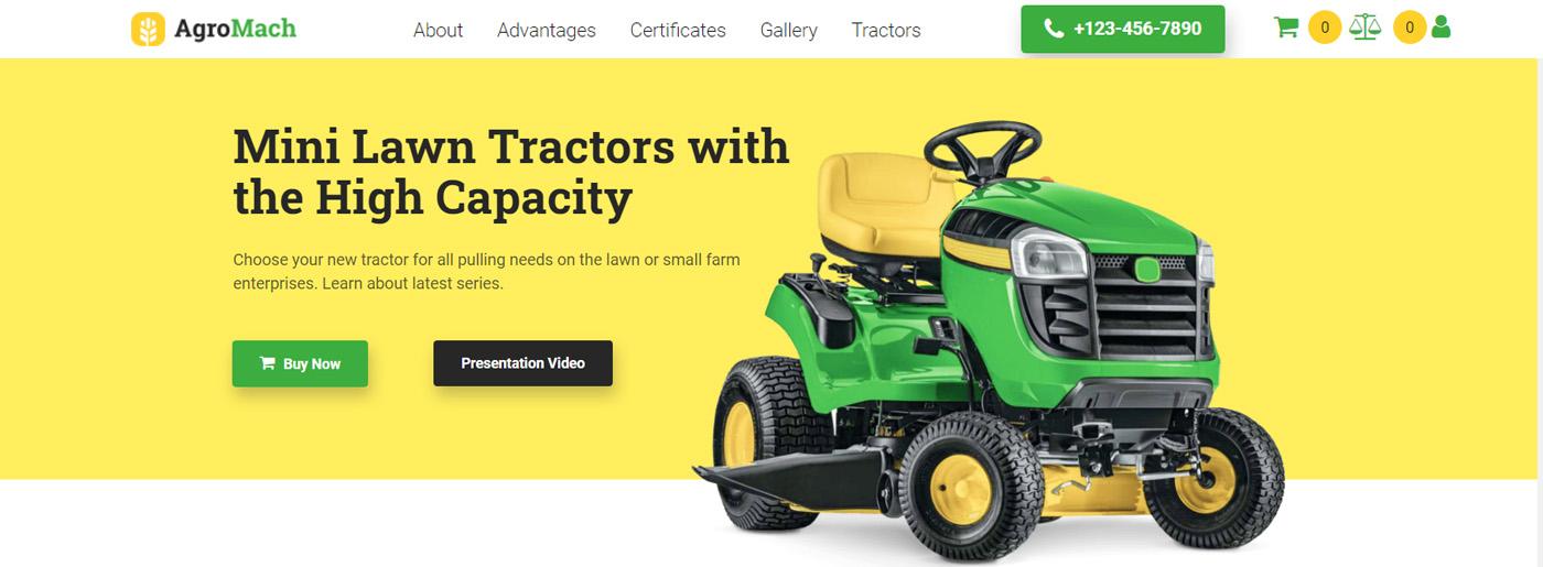 Website Design Audit for Machinery Shop