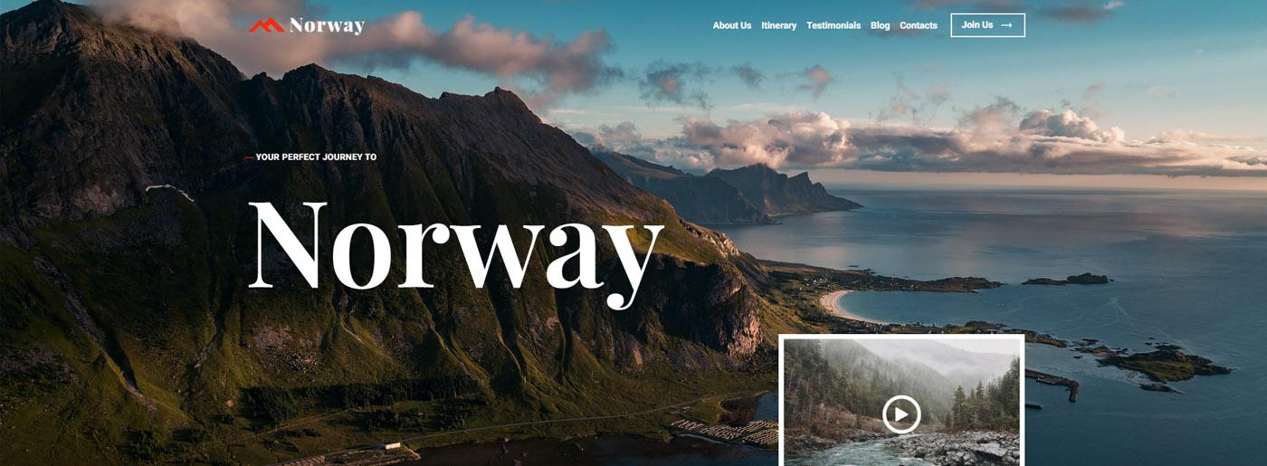 Tour Guide Website Design