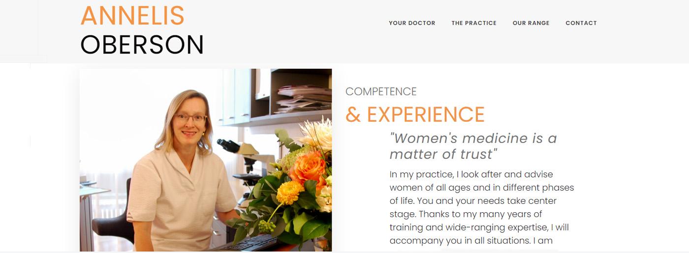 Doctor Website Builder Sites
