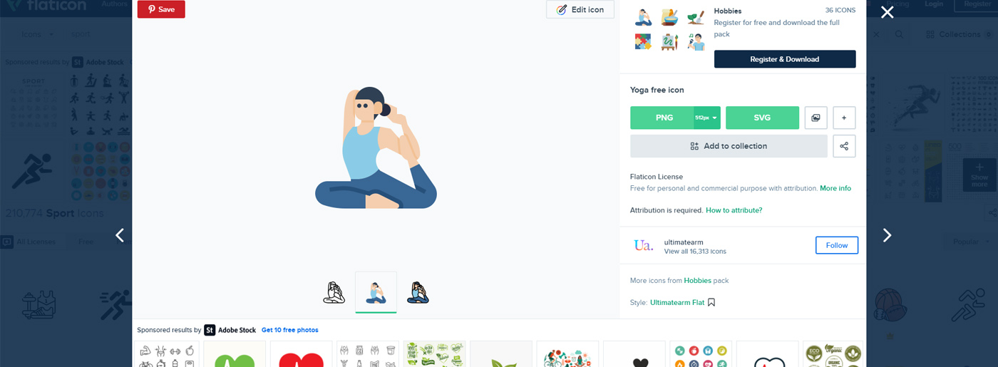 Free Website Design Icons