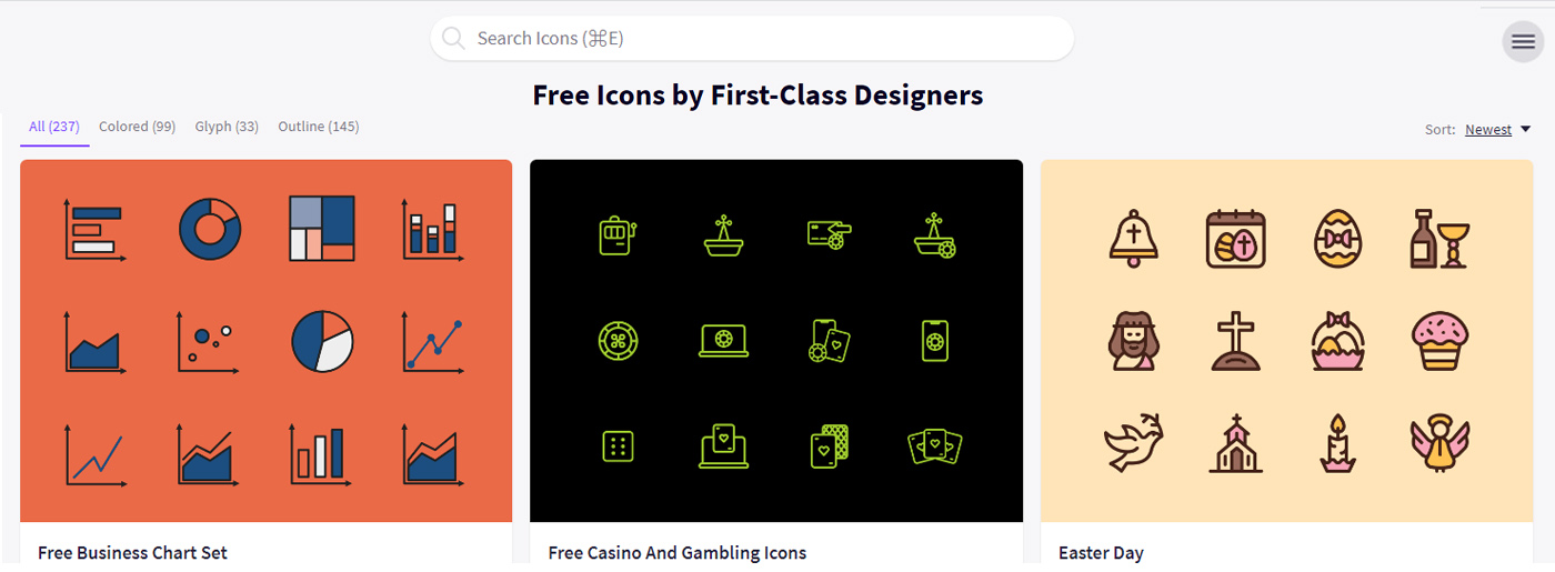 Professional Icons Examples