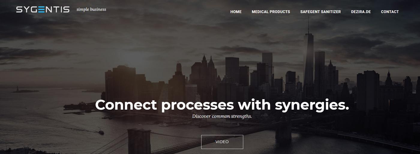 Sygentis Website