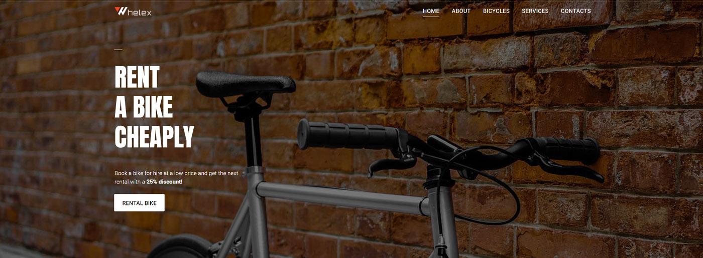 Bike Rent Website