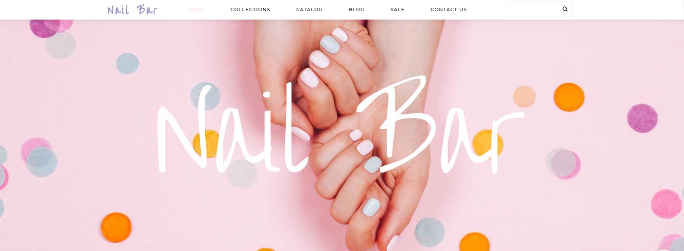 Nail Art Website